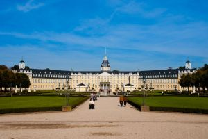 Karlruhe Palace by DeviantTeddine