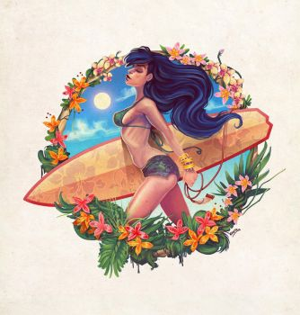 Surf Girl 2013 by thenota
