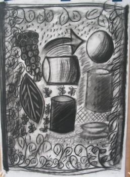 Intro to charcoal by mayann