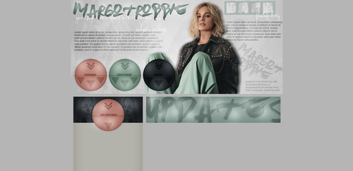 free design ft. Margot Robbie by designsbyroth
