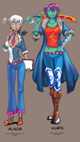 Argus' Girls preview 02 by Four-Skulls