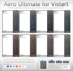 Aero Ultimate for Vistart by fediaFedia