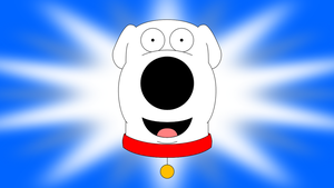 Disney Short style character card (Brian Griffin) by DecaTilde