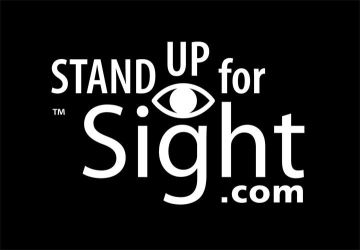 Stand Up for Sight Charity Logo by Huwman