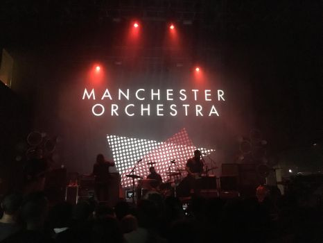 Manchester Orchestra in Houston 10/08 by helloandre