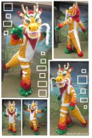 Chinese Dragon by LilleahWest
