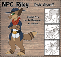 .Riley. [NPC Contest Entry] by blueefishhh
