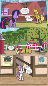 MLP:FiM - Shadows of the Past #9 by PerfectBlue97