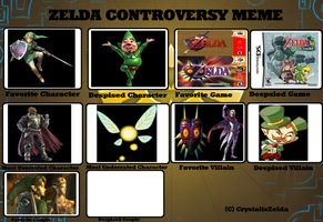 My Zelda Controversy Meme by MarioFanProductions