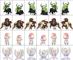 First Gaia Adopts FREE 0/4 closed by Adopts4everyoneXD