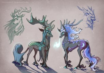 Chrysmoon-Kirin/Qilin by BegasusTiuBe