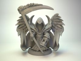 Fallen Angel for Impact Miniatures 30mm by zelldweller