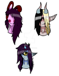 (PERSONAL) Character Batch by Jay-and-Kos