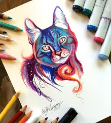 223- Galaxy Cat by Lucky978