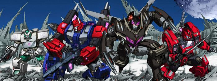 Transformers MTMTE 1 Shattered Glass by Air-Hammer