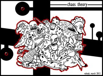 Chaos theory by Vaknyk