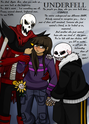 Underfell: Change of Pace-cover (Color) by AvionVadion2
