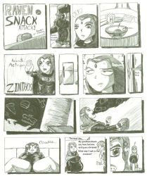Raven in Snack Attack by B-Mage