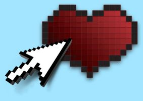 Clickable Heart by capdevil13
