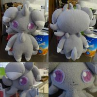 Espurr Plush by ChibiTigre