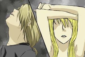Ed and Winry by Risabug18
