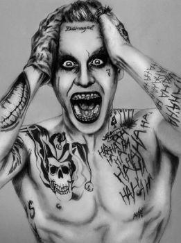 The Joker by Jared Leto by Andriks