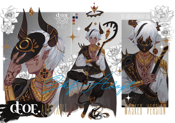 [closed ty!] D.O.P The Golden Minotaur by Skf-Adopt