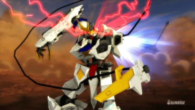 Gundam Barbatos Lupus Rex Final Battle MMD by MartySocketfingers