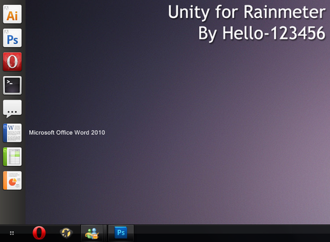 Unity for Rainmeter - OUTDATED by hello-123456