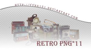 Retro png pack #07 by yynx151