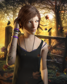 Chloe Price Natural Hair by DemonLeon3D