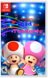 Rockin with Toad and Toadette Front by PokeGirlRULES