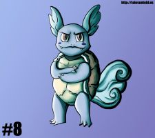 Wartortle - Gotta Draw 'Em All #8 by Punished-Kom