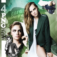 PNG PACK (148) Cara Delevingne by DenizBas