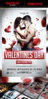 Valentines Day Flyer Template by odindesign