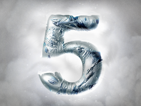 Ice Winter Photoshop Layer Styles - Frozen Text Fx by Giallo86