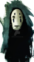 Spirited Away No face by mezwik