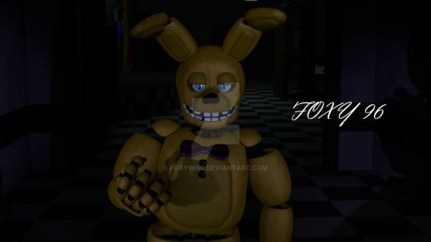 Spring Bonnie V9 Textured by me by FOXY9650