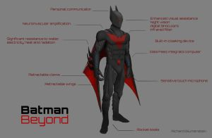 Batman Beyond Redo by RichardBlumenstein
