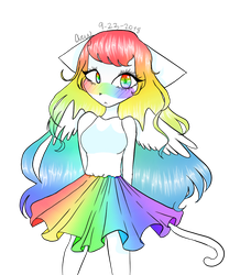 Rainbow by TheJewelKitty