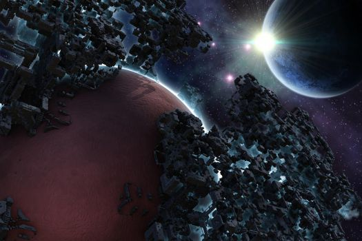 Deep Space Water Extraction by GrahamSym