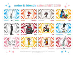 MdM calendART 2010 by MdMbunny