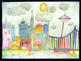 by Elizabeth Sun 3rd grade by DH-Students-Gallery