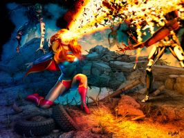 SUPERGIRL52 - ONE DOWN THREE TO GO by ISIKOL