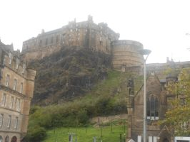 Edinburgh Castle by Keresaspa