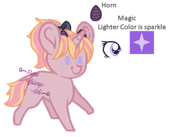 Adoptable For Pizzachan0412 ~MLP~ by Purple-Galaxy-Girl