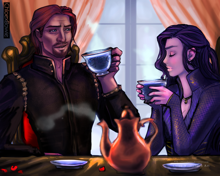 Tea and Teagan by ChloexBowie