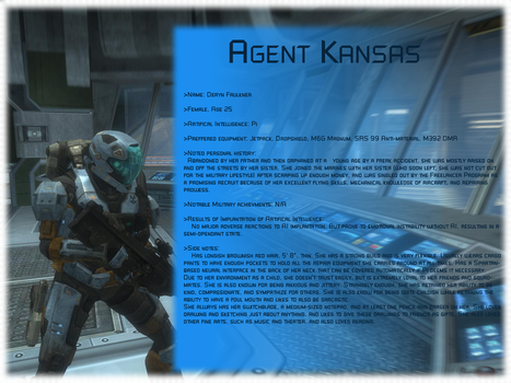Agent Kansas - Freelancer by Kieranoleary