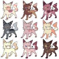 CHEAP 7 POINT Adopt Batch - closed by Crocadopts