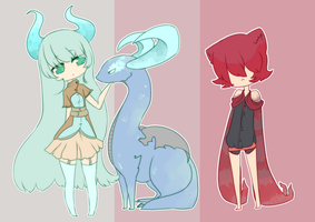 Dual Adopts [2/2 sold] [Closed] [Set price] by Ryis